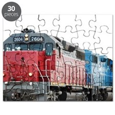 Train Blanket Blank Puzzle