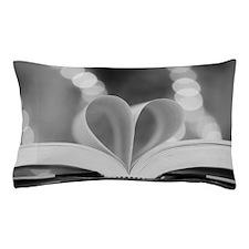 Book Heart Pillow Case