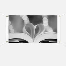 Book Heart Banner