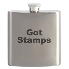Got Stamps Flask
