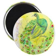 Dream Peacock Magnets