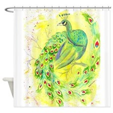Dream Peacock Shower Curtain