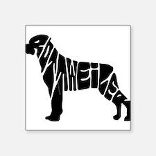 Rottweiler lovers Sticker