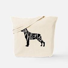 Rottweiler lovers Tote Bag