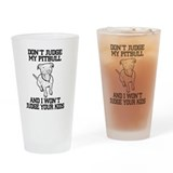 Pitbull Pint Glasses
