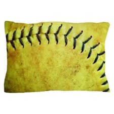 Softball Pillow Case