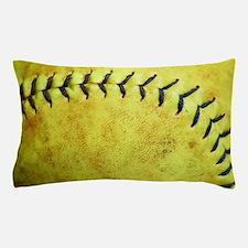 Softball Pillow Case