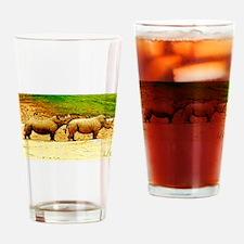 Chin Rest Drinking Glass