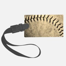 Softball Luggage Tag