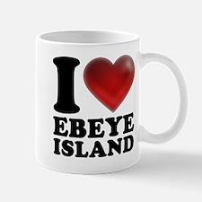 I Heart Ebeye Island Mugs