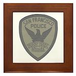 SFPD SWAT Framed Tile