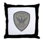 SFPD SWAT Throw Pillow