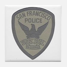 SFPD SWAT Tile Coaster