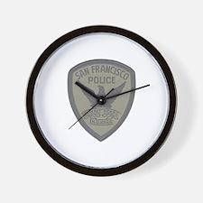 SFPD SWAT Wall Clock