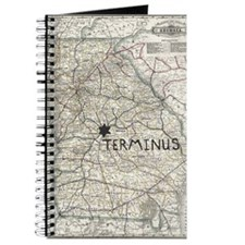 TERMINUS Map for Rick Grimes and Daryl Dix Journal