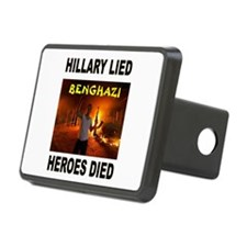 HILLARY LIED Hitch Cover