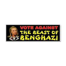 Hillary Lied Car Magnet 10 X 3