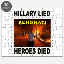 HILLARY LIED Puzzle