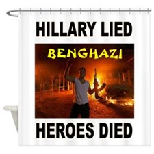HILLARY LIED Shower Curtain