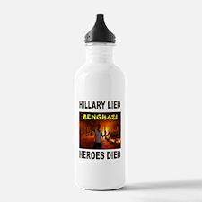 HILLARY LIED Water Bottle