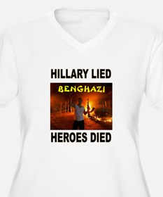 HILLARY LIED Plus Size T-Shirt