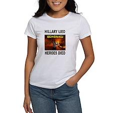 HILLARY LIED T-Shirt