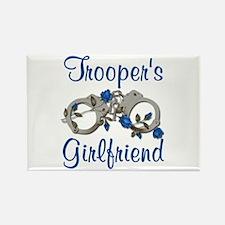 Trooper's Girlfriend Rectangle Magnet