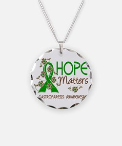 Gastroparesis Hope Matters 3 Necklace