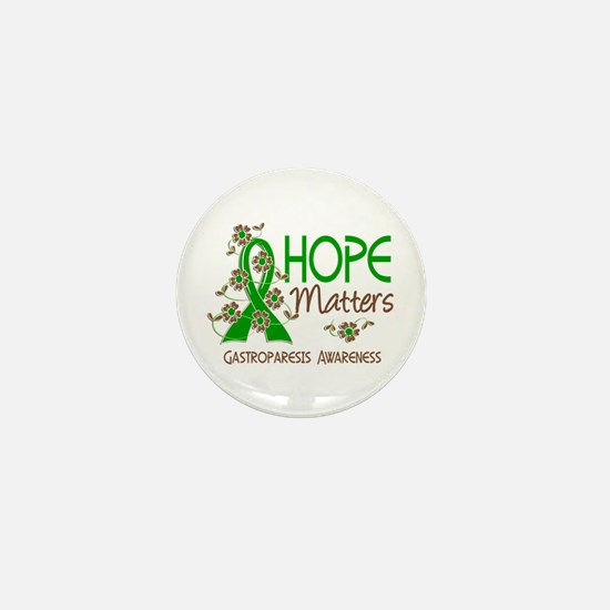 Gastroparesis Hope Matters 3 Mini Button