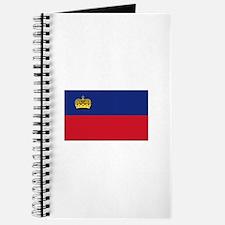 Flag of Liechtenstein - NO Text Journal