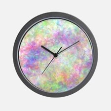 Pretty Pastel Floral Wall Clock