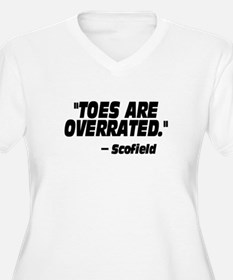 Toes Are Overrated T-Shirt