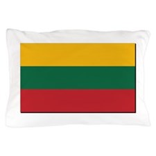 Flag of Lithuania - NO Text Pillow Case