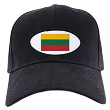 Flag of Lithuania - NO Text Baseball Hat