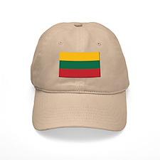 Flag of Lithuania - NO Text Baseball Cap