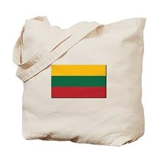 Flag of Lithuania - NO Text Tote Bag