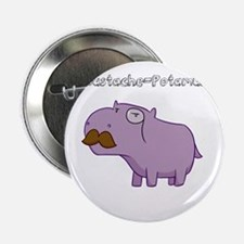 "Mustache-Potamus 2.25"" Button"