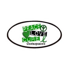 Gastroparesis Peace Love Cure 1 Patches