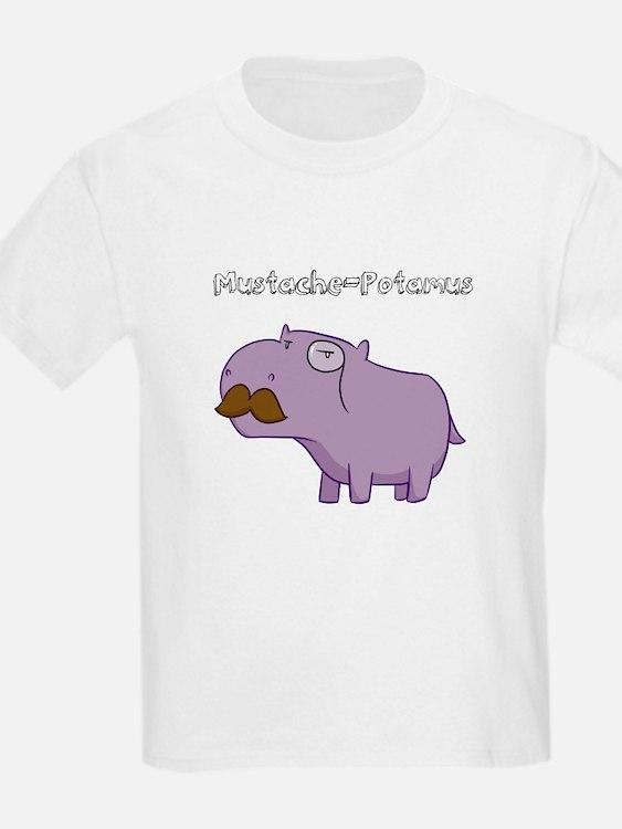 Mustache-Potamus T-Shirt (youth)