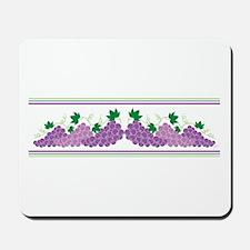 Purple Grapes Mousepad