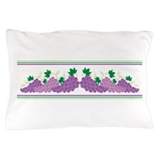Purple Grapes Pillow Case