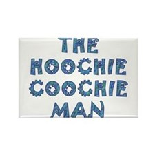 Blues Hootchie light Magnets