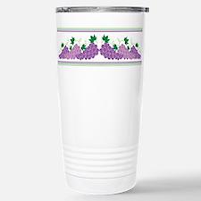 Purple Grapes Travel Mug