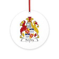 Rowley Ornament (Round)