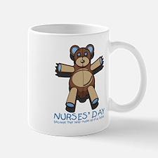 Nurse's Day Teddy Bear Mug