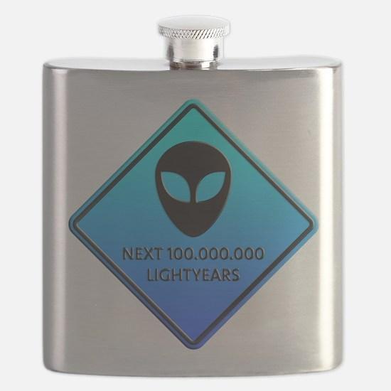 Aliens next 100.000.000 Lightyears Flask