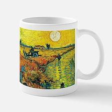 Van Gogh Red Vineyard Mugs