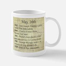 May 16th Mugs