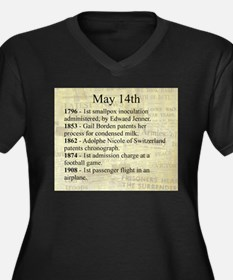 May 14th Plus Size T-Shirt