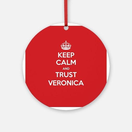 Trust Veronica Ornament (Round)